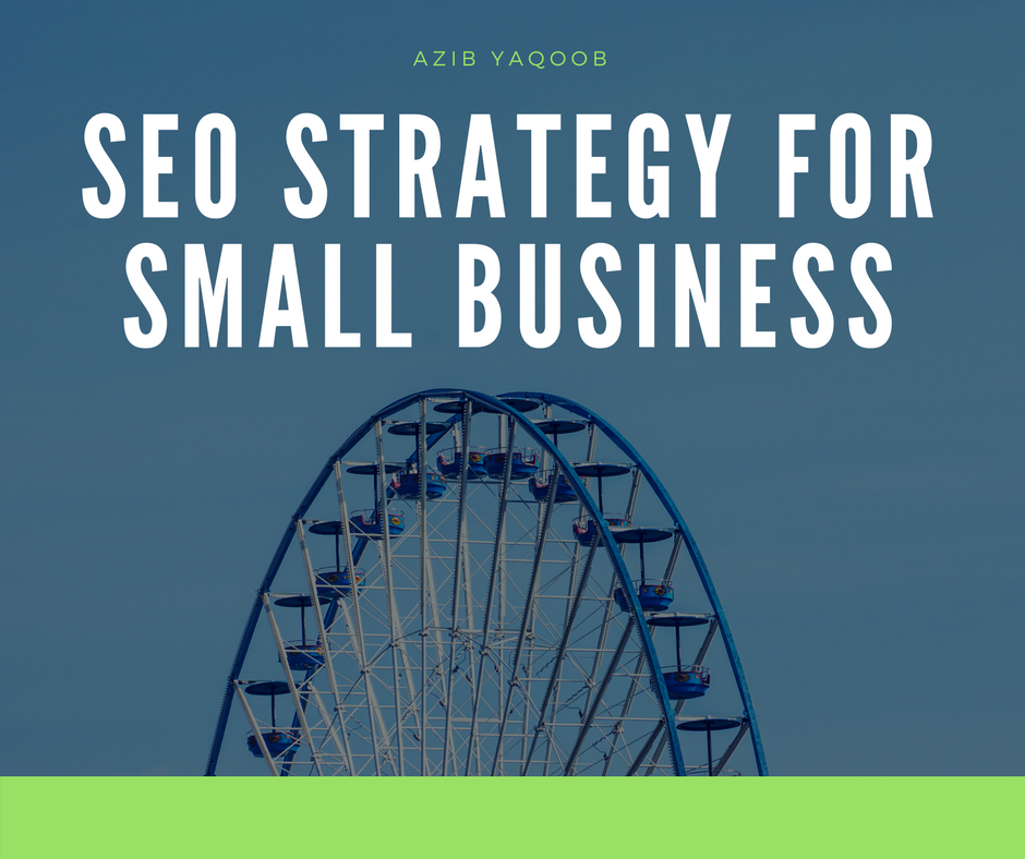 Small Business SEO strategy Post Banner