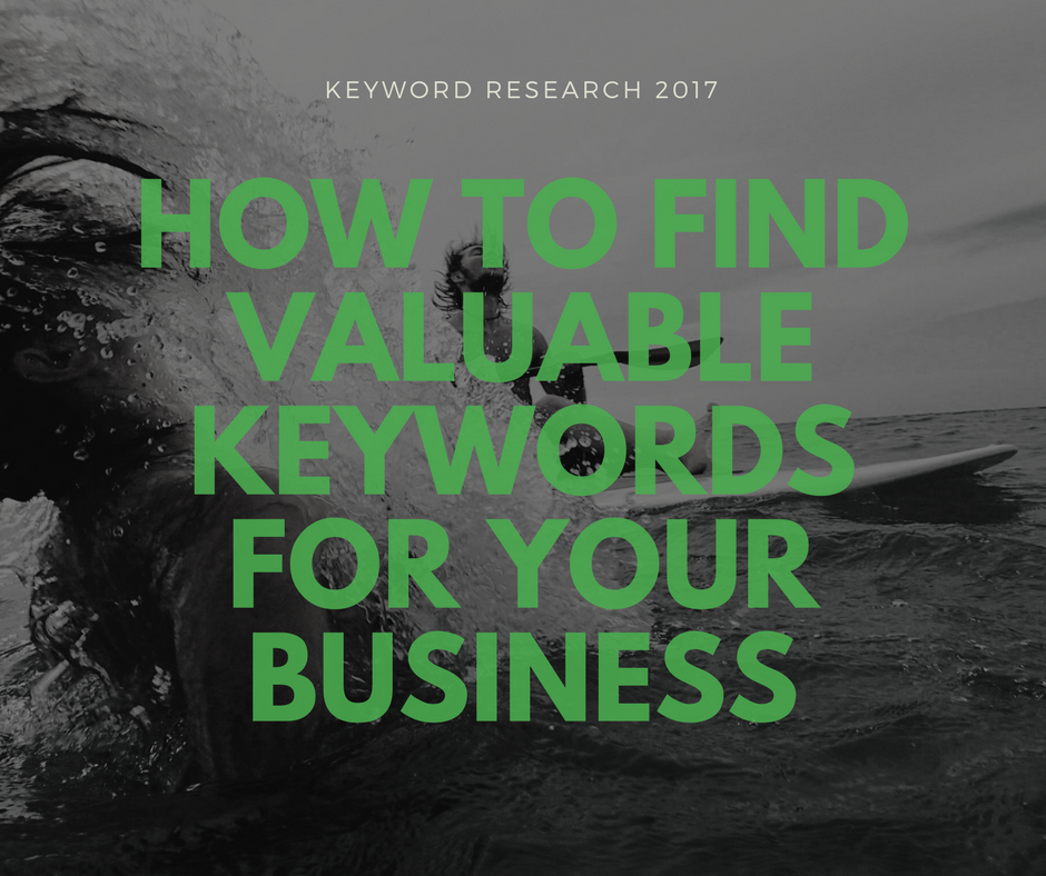 What's the best way to find valuable keywords for SEO?