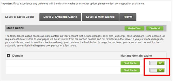 Turn on the Dynamic Cache in SuperCacher settings on SiteGround