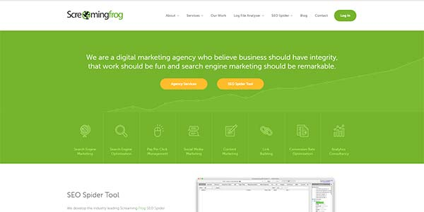 Screaming Frog: SEO, Search Engine Optimization & Marketing