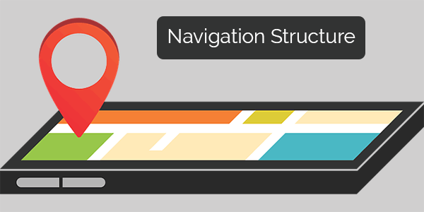 Navigation structure