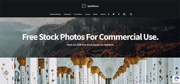 SplitShire stock photos
