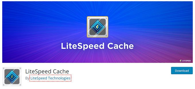 LiteSpeed Cache WordPress Caching Plugin