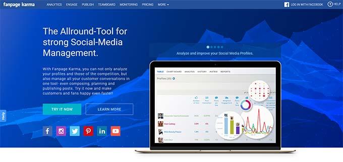 Fanpage Karma Social Media Tool