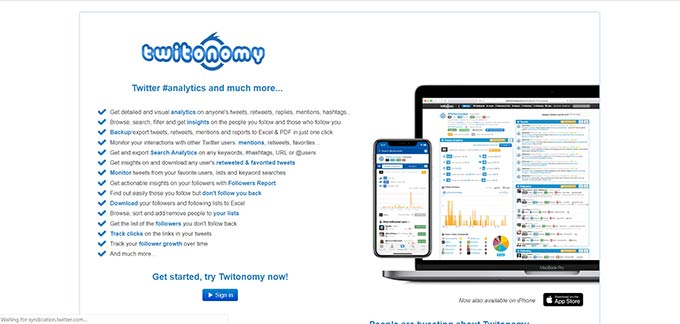 Twitonomy: Twitter #analytics and much more...